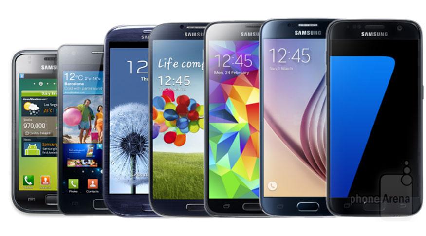 Evolution of Samsung Mobile Phones